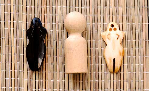 Vaguely Human Shaped Curios