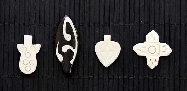 Abstract and Geometric Shaped Curios