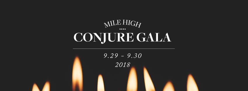Mile High Conjure Gala Banner