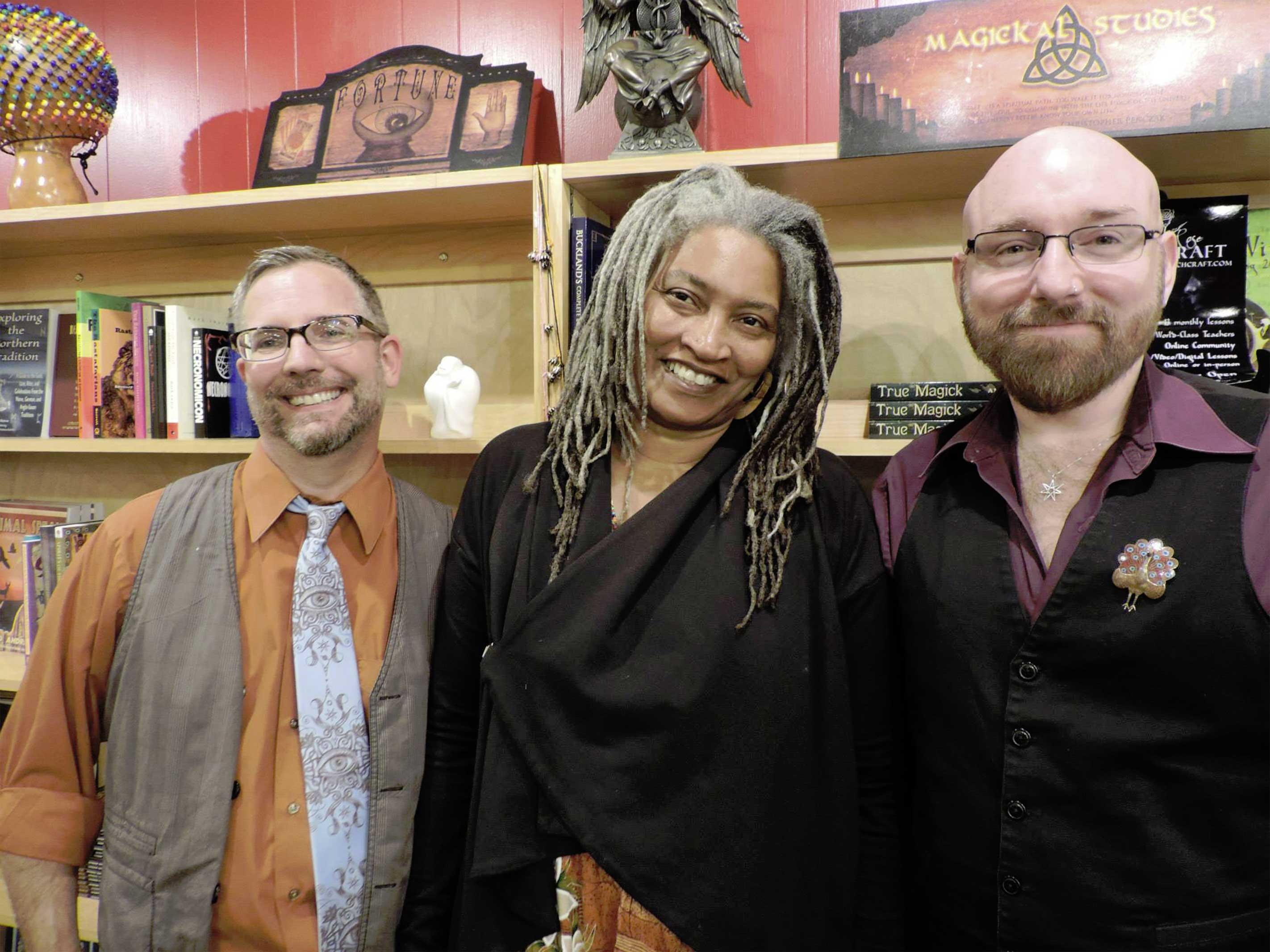 Me and the owners of The Mystic Dream