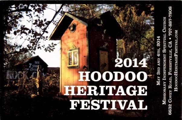 Hoodoo Heritage Festival 2014