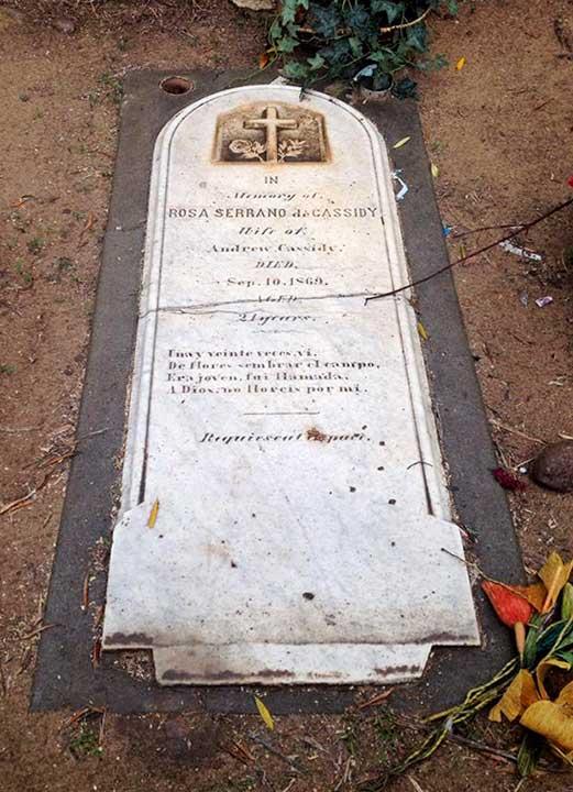 El Campo Santo Cemetery, Old Town San Diego
