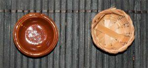 Bowl in bone divination