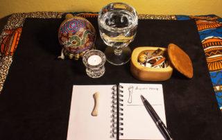 Little black book for bone divination meanings