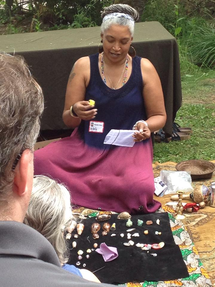 Michele Jackson teaching