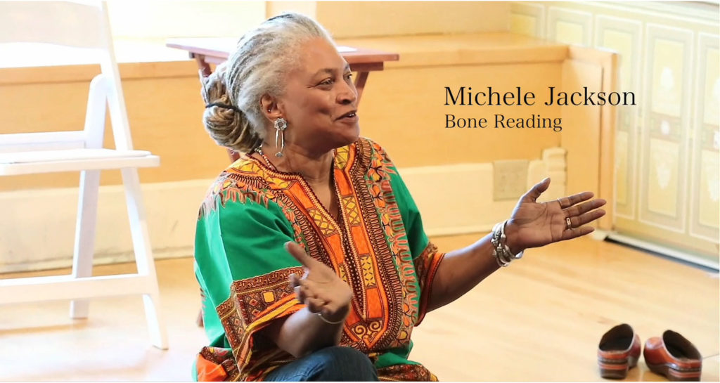 Michele Jackson Teaching Introduction to  Bone Reading at 2018 MHCG