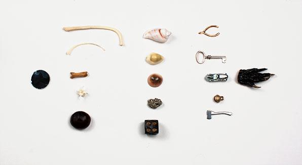 Rosarium Blends Bone Reading Set Bones, Shells, and Curios