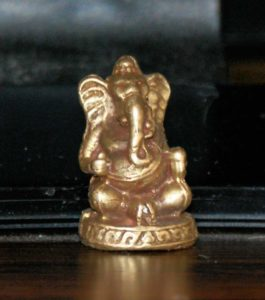 Ganesh used in bone divination set